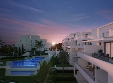 Cortijo-del-Golf-property-for-sale-Costa-del-Sol-West-Marbella-Atardecer-Piscina