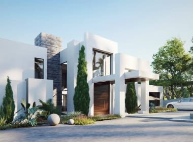 Flamingos-130-villas-new-golden-mile-estepona-new-build-for-sale-Marbella-Callow-estates-Costa-del-Sol-properties-front