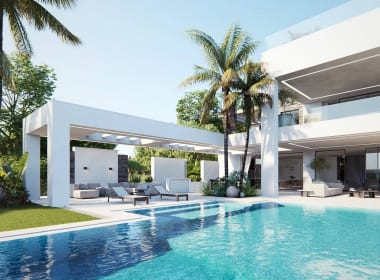 Flamingos-130-villas-new-golden-mile-estepona-new-build-for-sale-Marbella-Callow-estates-Costa-del-Sol-properties-pool