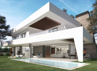Marein-Collection-Elviria-villas-new-golden-mile-estepona-new-build-for-sale-Marbella-Callow-estates-Costa-del-Sol-properties-garden