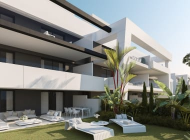 Vanian-Green-Village-apartments-estepona-new-build-for-sale-Marbella-Callow-estates-Costa-del-Sol-properties-garden