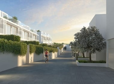 la-finca-sotogrande-new-property-for-sale-Cancelada-New-build-Costa-del-Sol-Callow-Estates-LaFinca-Sotogrande-inside-street