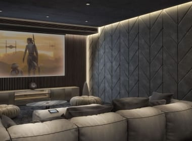The Hills - Villa 4 - Cinema room