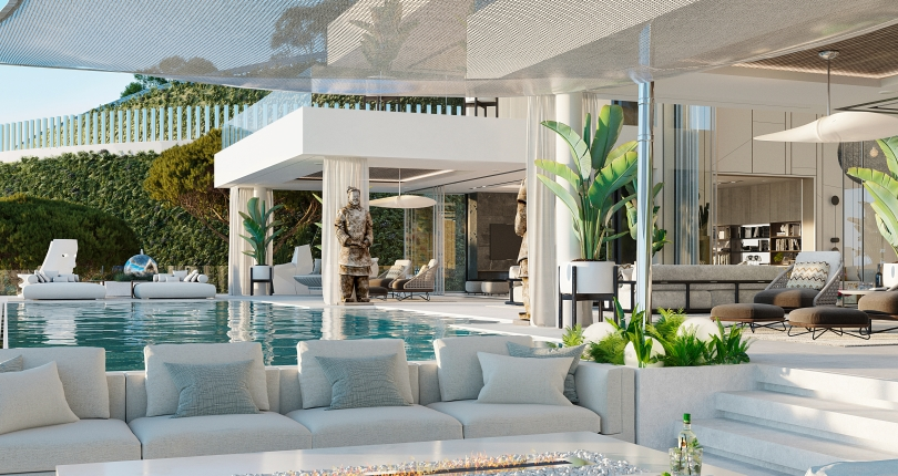 Marbella's first luxury avant-garde villa designed and built under Passive House Regulations and Standards.